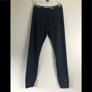 Burton base layer black legging / pants